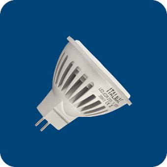 Лампа светодиодная  6W  MR16 GU5.3  2700K (теплого белого свечения)