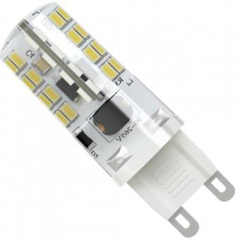 Лампа светодиодная  G9 5W 220V 3300К (теплого белого свечения)