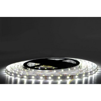 Светодиодная лента SMD 2835/60  IP20  6w  12V  (холодного белого свечения)