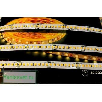 Светодиодная лента LUX LP SMD2835/192  18W  24V  IP20  (теплый белый ) LEDSPOWER