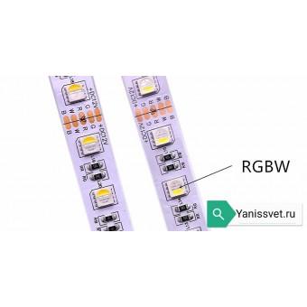 Светодиодная лента 5050/60 RGB+WARM WHITE (в одном диоде) 12V 19.8W  IP20