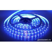 Светодиодная лента SMD 5050/60  IP20 12V 14.4w (синего свечения)