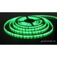 Светодиодная лента SMD 5050/60  IP20  12V 14.4w (зеленого свечения)