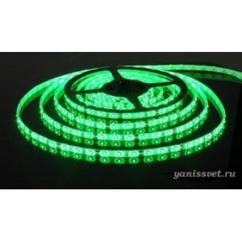 Светодиодная лента SMD 3528/120  IP65  12V  9.6w (зеленого свечения)