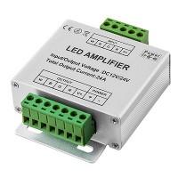Усилитель RGB+W контроллера 24A для светодиодной ленты 12/24V