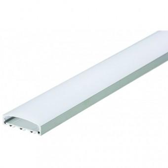 Гибкий профиль для светодиодной ленты 18х5,7мм (накладной - гибкий) 2м.п.
