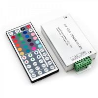 Контроллер RGB 144W 12/24V радио 12А