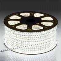 Светодиодная лента 220 вольт SMD2835/120  IP67 24Вт (холодного белого свечения)