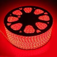 Светодиодная лента 220 вольт SMD2835/120 IP67 24Вт (красного свечения)