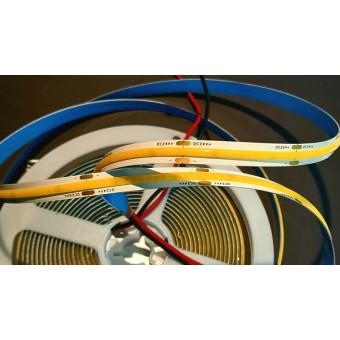 Светодиодная лента COB 384/м 10W 24V IP65 нейтрального свечения
