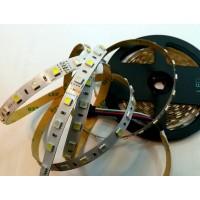 Светодиодная лента 5050/60 RGB+WHITE 14.4W  IP20  12V