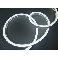 Неон LED ST 9Вт/м 12В 8х16мм  холодного белого свечения