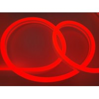Неон LED Premium 11Вт/м 12В 8х16мм  красного свечения