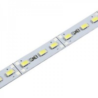 Светодиодная линейка SMD 5630/72  18w   IP20 12V на алюминиевой основе (белого холодного свечения)