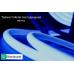 Светодиодная лента SMD 2835/180 IP68 24V 12w термостойкая (синего свечения)