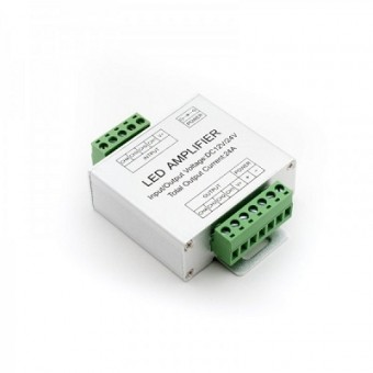 Усилитель RGB контроллера 24A для светодиодной ленты 12/24V