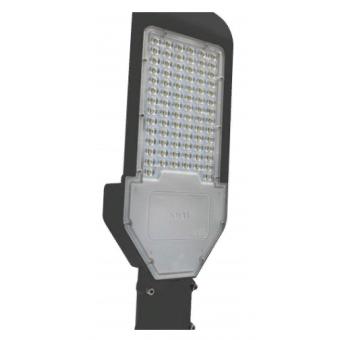 """Консольный LED прожектор """"Кобра"""" black 80W 6000K (холодного белого свечения)  LEDSPOWER"""