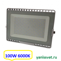 Прожектор светодиодный 100W 6000K IP65 220V