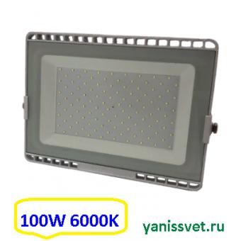 Прожектор светодиодный 100W 6000K IP65 220V LEDSPOWER