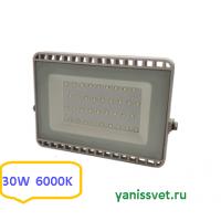 Прожектор светодиодный 30W 6000K IP65 220V