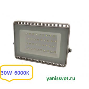 Прожектор светодиодный 30W 6000K IP65 220V LEDSPOWER