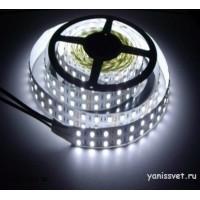 Светодиодная лента SMD5050/120 28.8w 24V IP20 (Холодного белого свечения) LEDSPOWER
