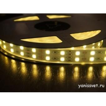 Светодиодная лента SMD5050/120 28.8w 24V IP20 (Теплого белого свечения)