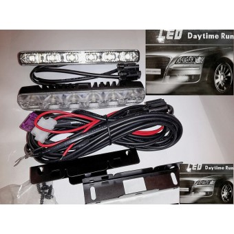 Ходовые LED огни  12V 12W (белого свечения)