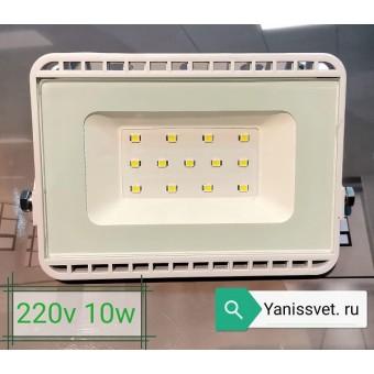 Прожектор светодиодный 10W 6000K IP65 220V LEDSPOWER