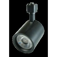 Трековый светильник 25w 220V черный 4000К (нейтрального свечения) IP40